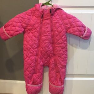 Other - Baby girls pink snow suit